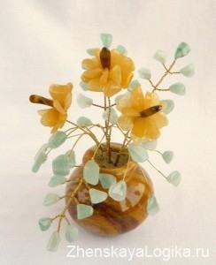 каменные цветы