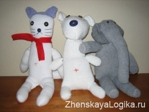 sock-dolls
