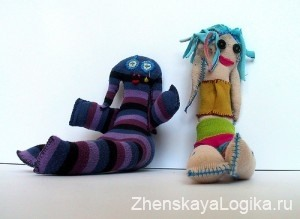 socks dolls
