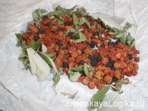 сушёные ягоды