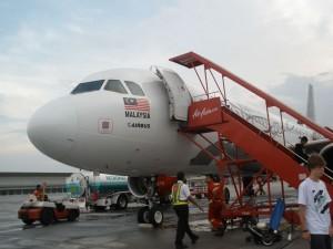 полёт в Малайзию