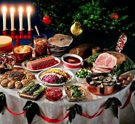 Еда для новогоднего стола, приносящая удачу