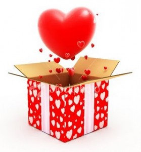 Оригинальная «ленивая» валентинка – коробочка с поцелуем