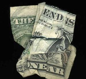 Загадочные картинки: Оригами из долларов