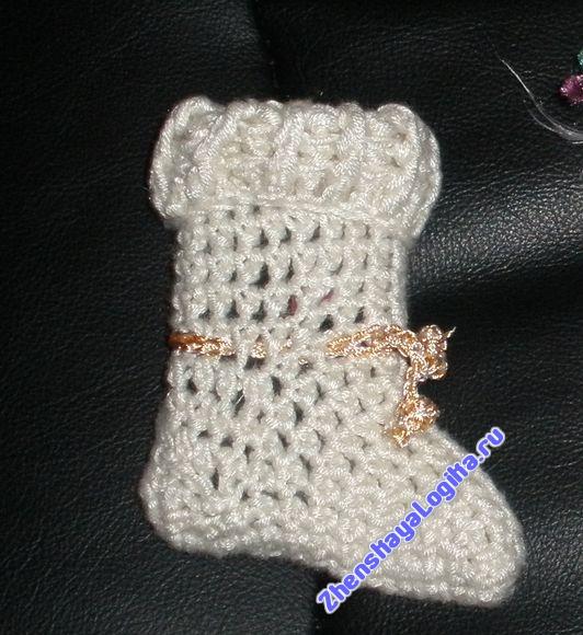 Женская Логика - Носок для телефона.
