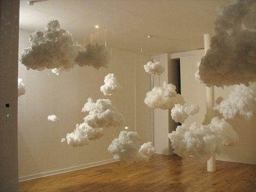 Облака из ваты своими руками