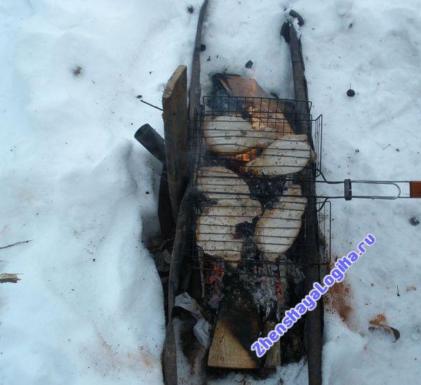 Пикник на морозе