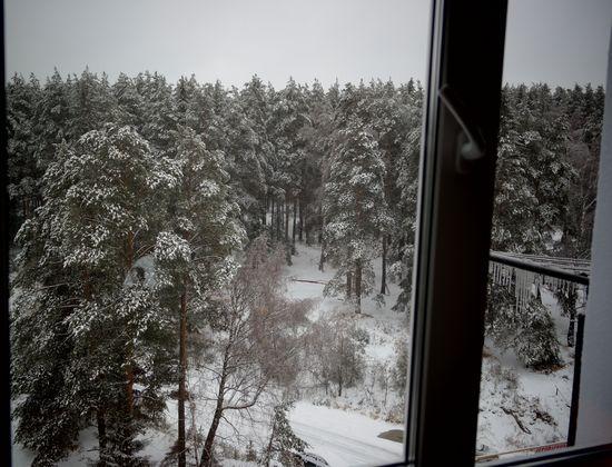 Ледяной дождь и снег в Златоусте