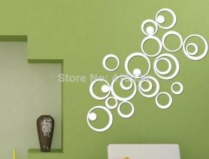 Отзывы о покупках на АлиЭкспресс: зеркальные наклейки