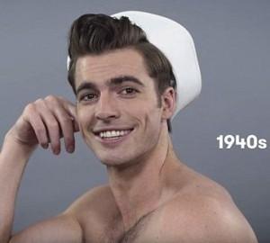 Как менялись мужские модные причёски за последние 100 лет