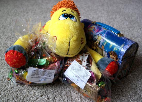 Сладкие подарки к Новому Году или Чем порадовать большого ребёнка