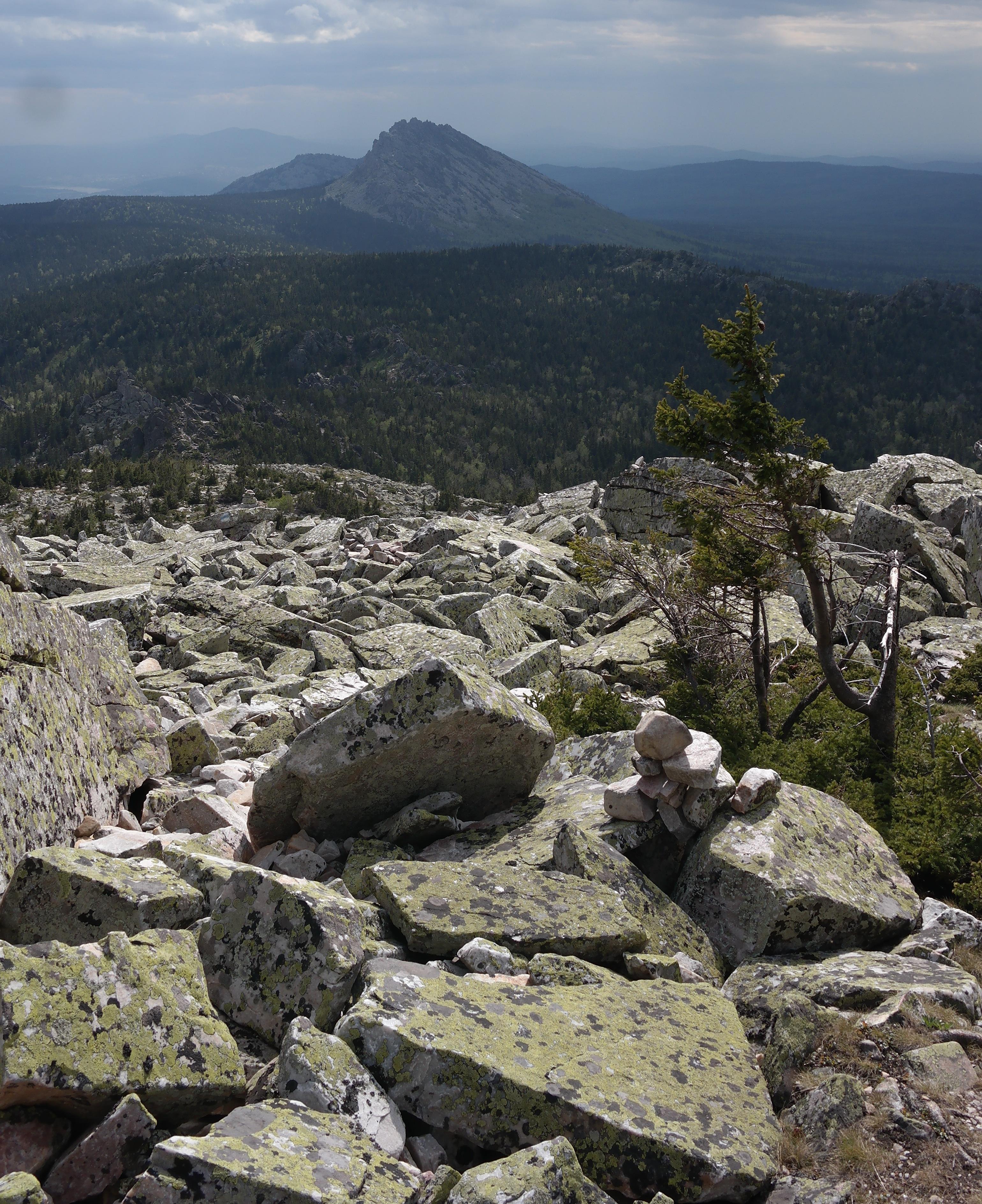 Таганай: гора Круглица и её необычные камни