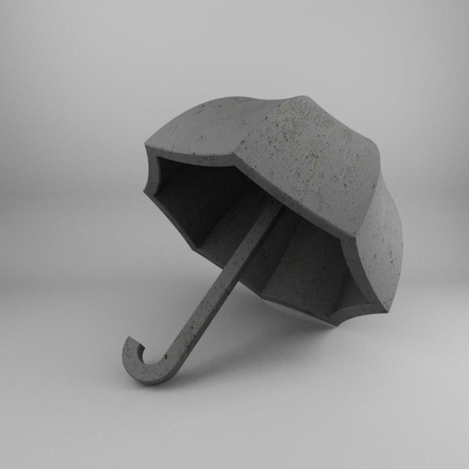 Бетонный зонт, солонка-песочные часы и другие потрясающе неудобные предметы