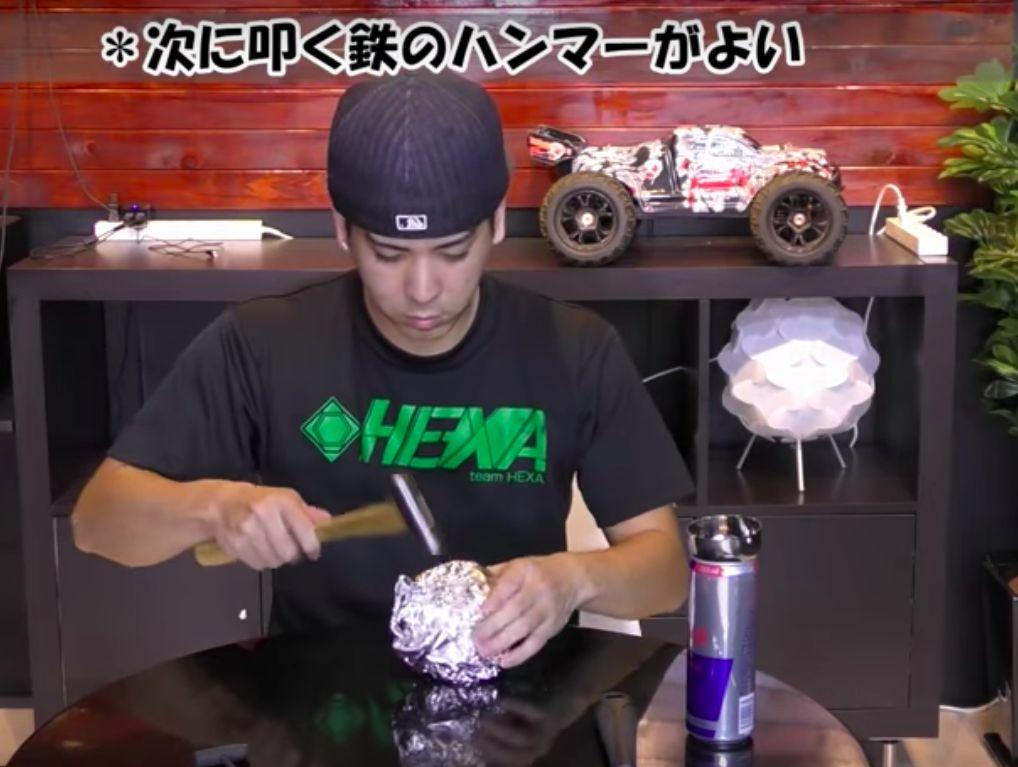 Шар из кухонной фольги - новое японское антирукоделие