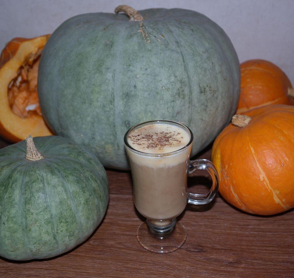 рецепт кофе с тыквой