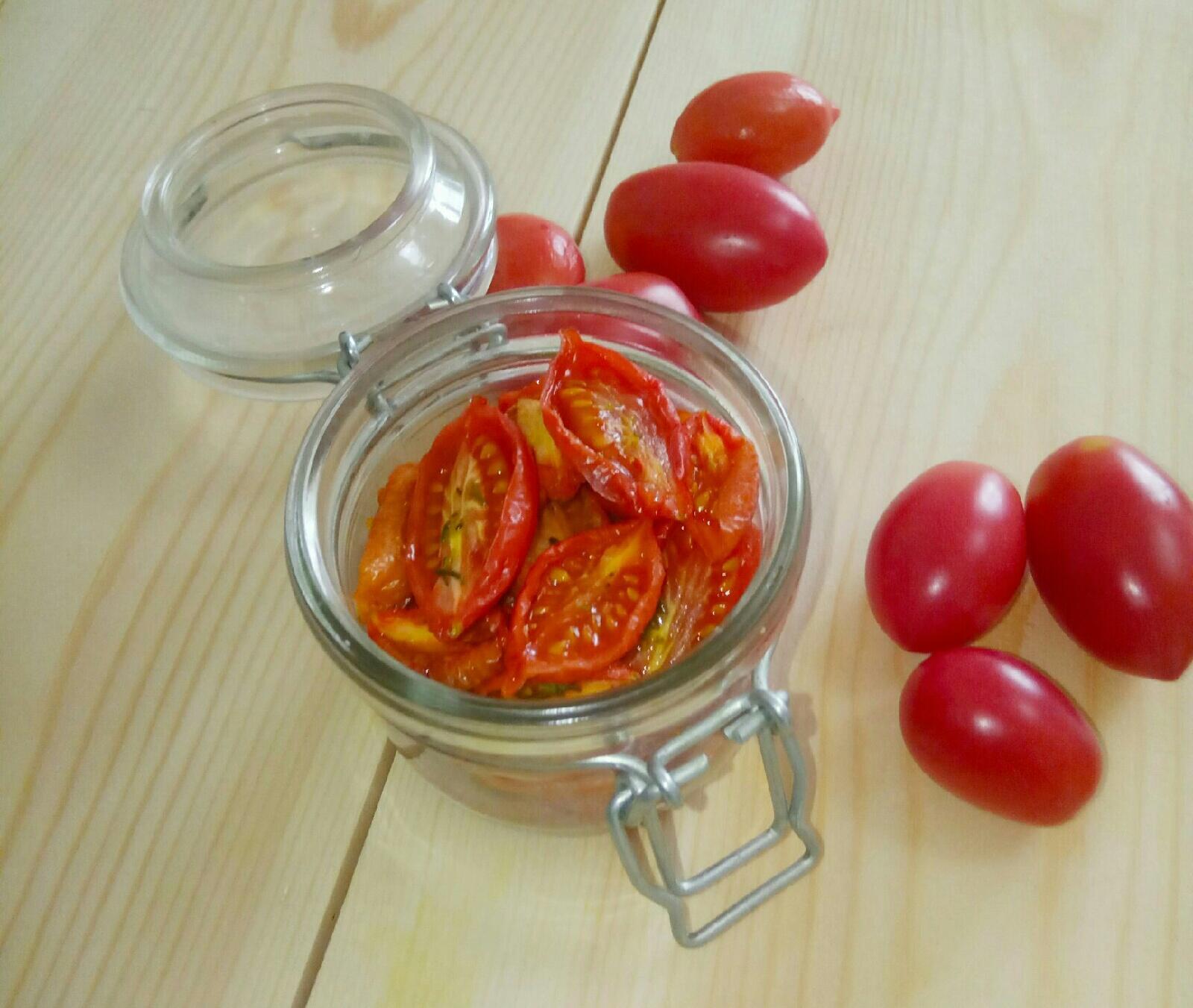 вяленые помидоры в духовке без хлопот