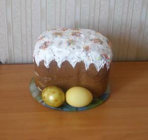 Кулич для ленивых (в хлебопечке)