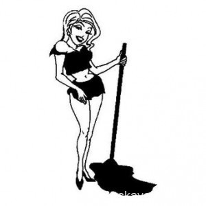 весенняя уборка, мытьё полов
