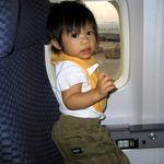 что взять в самолёт для ребёнка