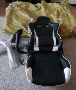 Мебель с АлиЭкспресс: отзыв о геймерском кресле
